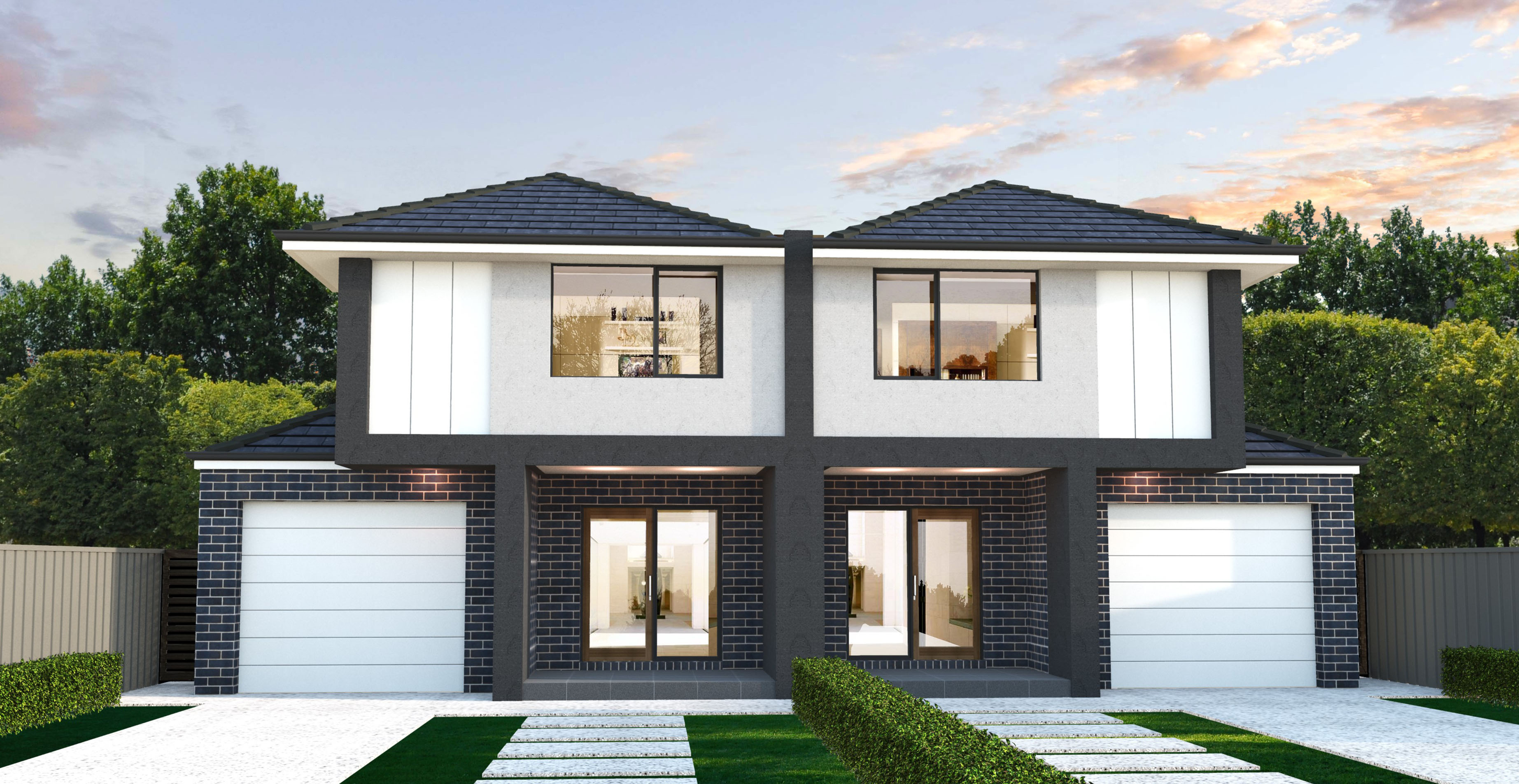 Dual occupancy house designs melbourne house and home design for Best house designs melbourne