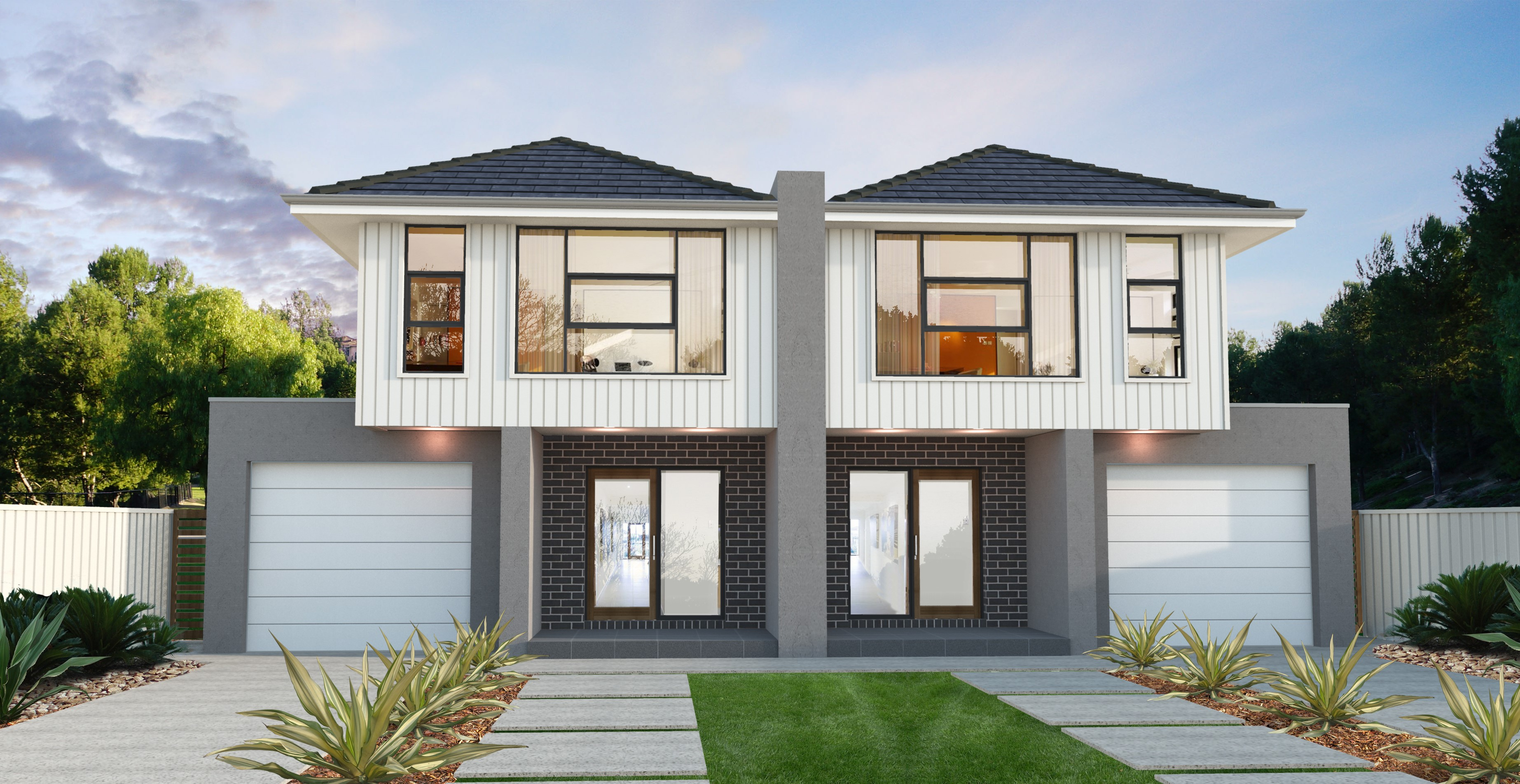 Dual occupancy home designs melbourne home design ideas for Dual occupancy home designs corner block