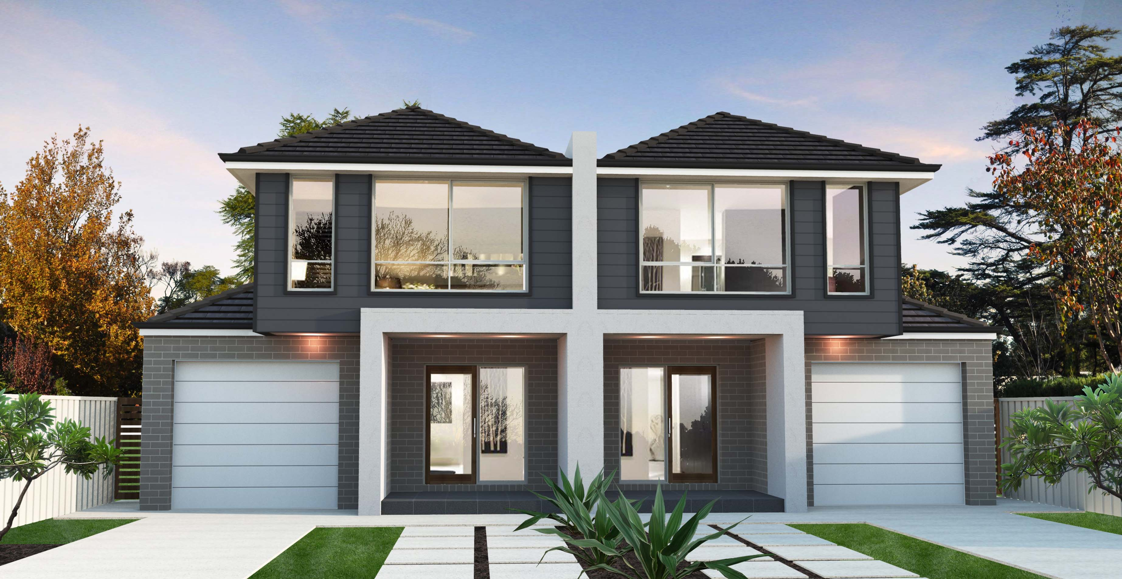 Dual Occupancy Floor Plan Unforgettable New At Cute Duo