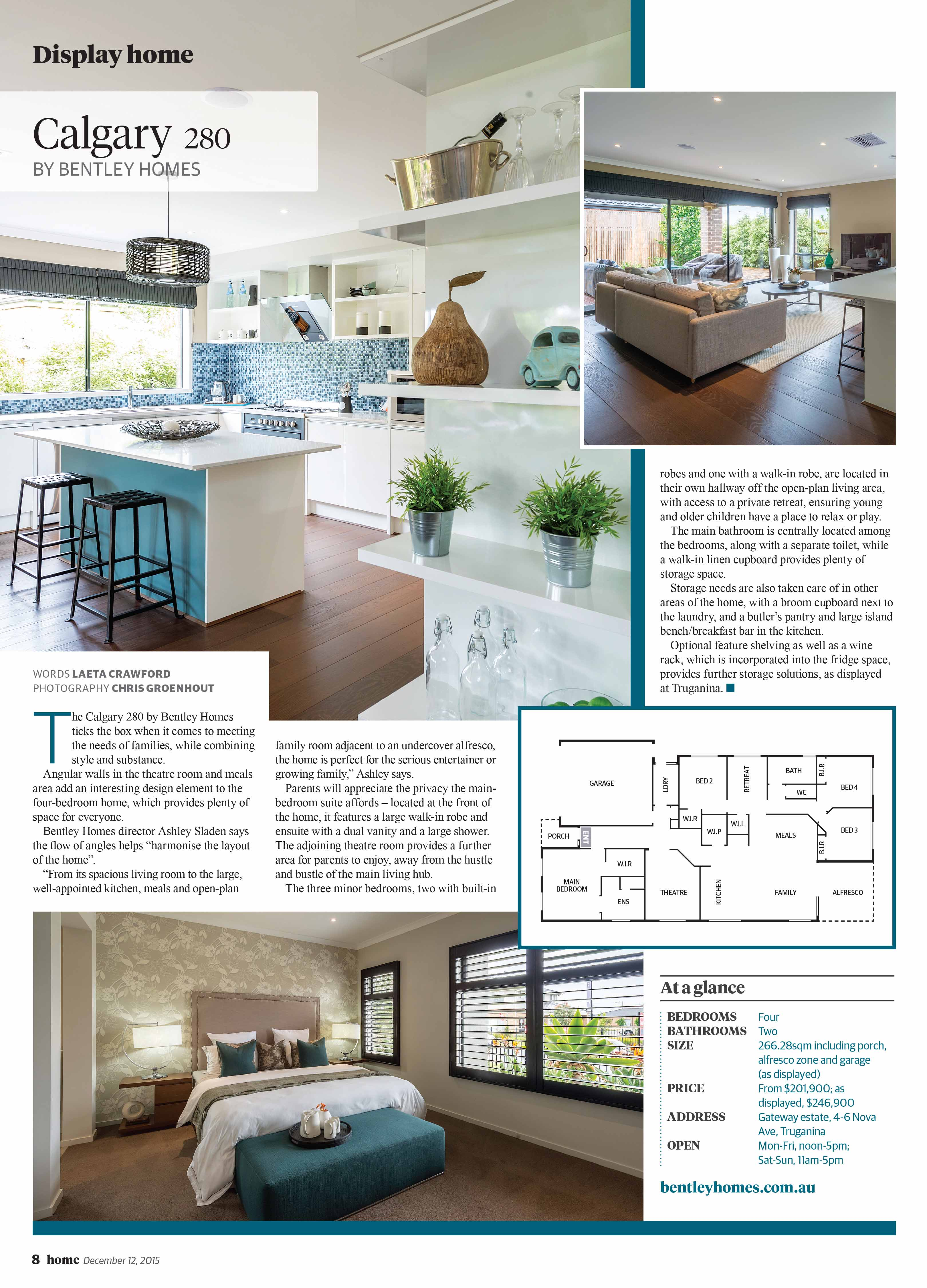 Article Of Calgary 280 Home Design By Bentley Homes